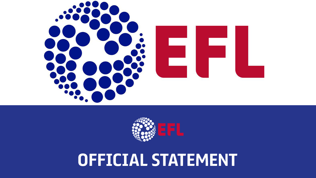 The EFL's latest round of Covid-19 test results have been confirmed