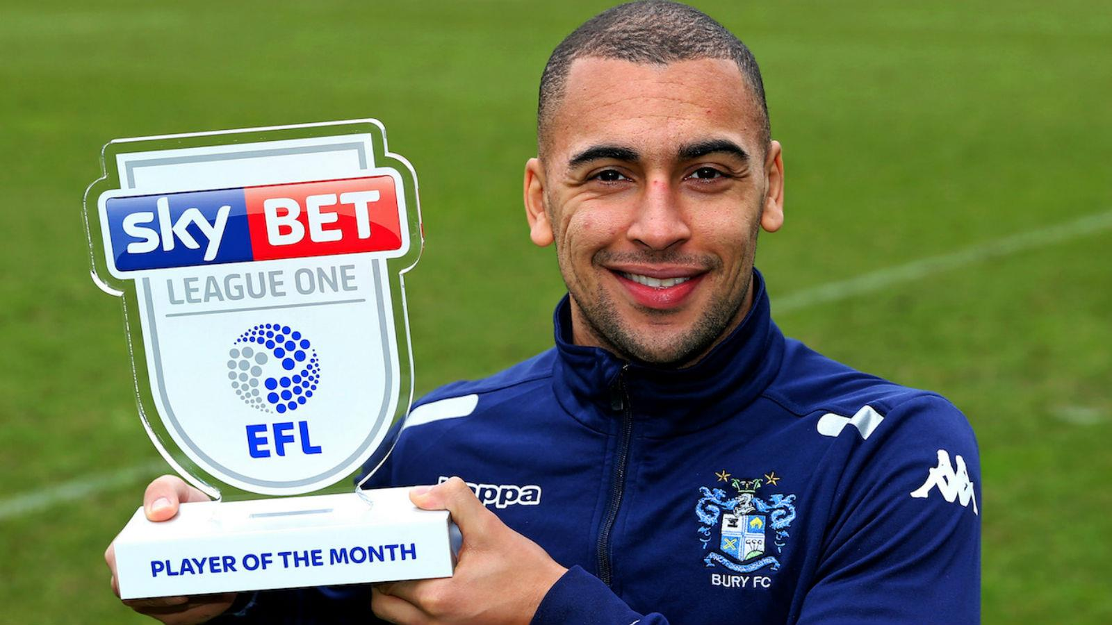 james vaughan named sky bet league one player of the month. Black Bedroom Furniture Sets. Home Design Ideas