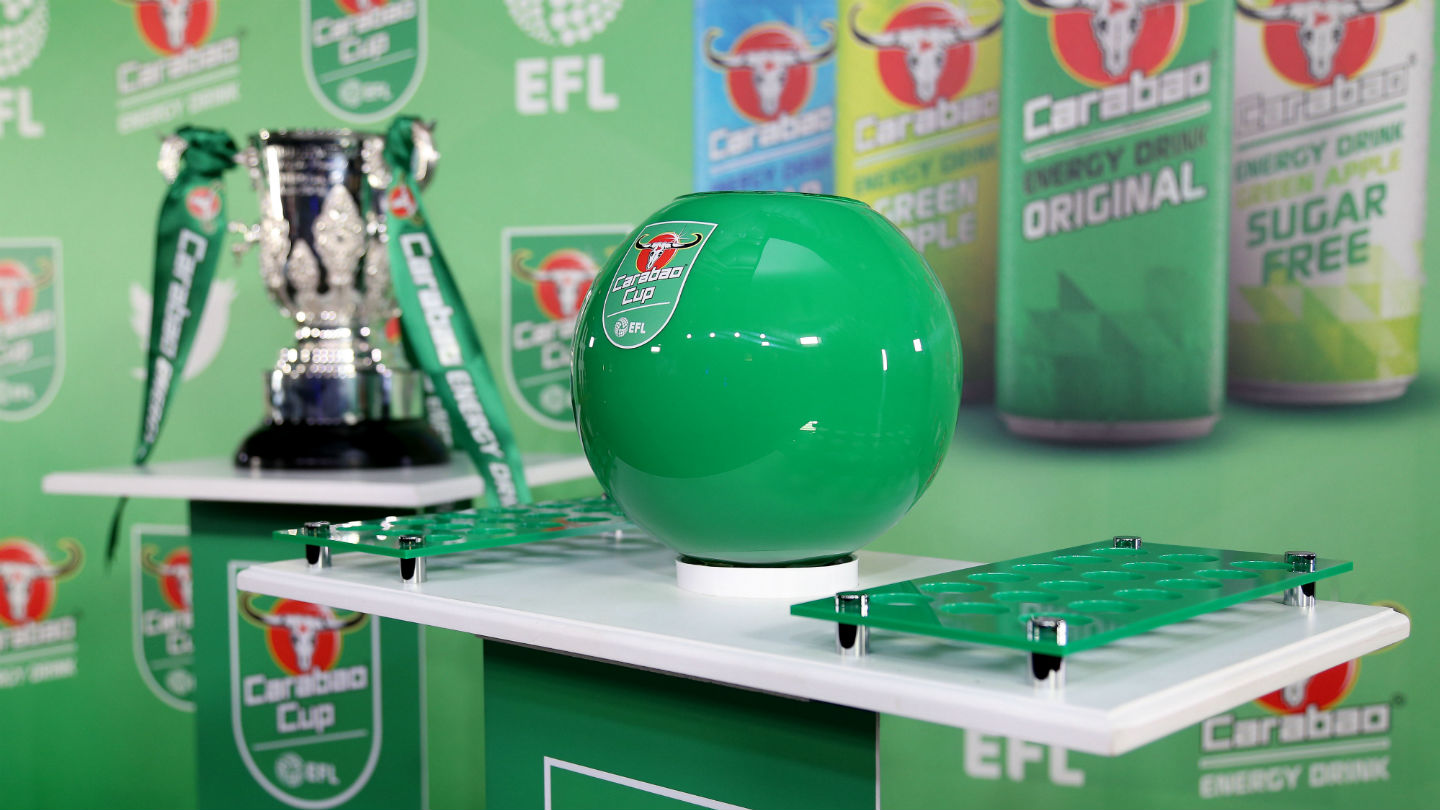 Carabao Cup: Round One Draw