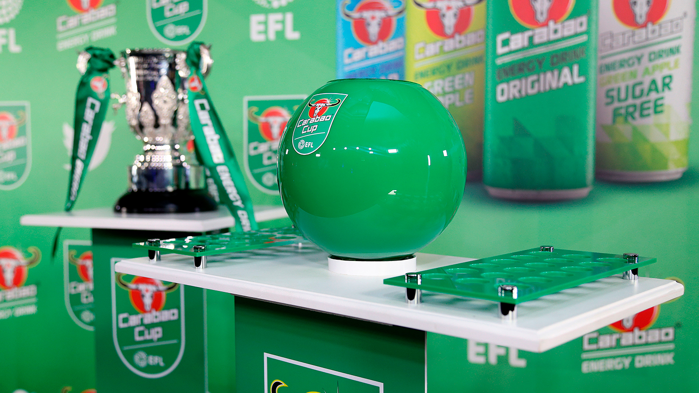 Carabao Cup: Round Two Ball Numbers and Draw Details Confirmed
