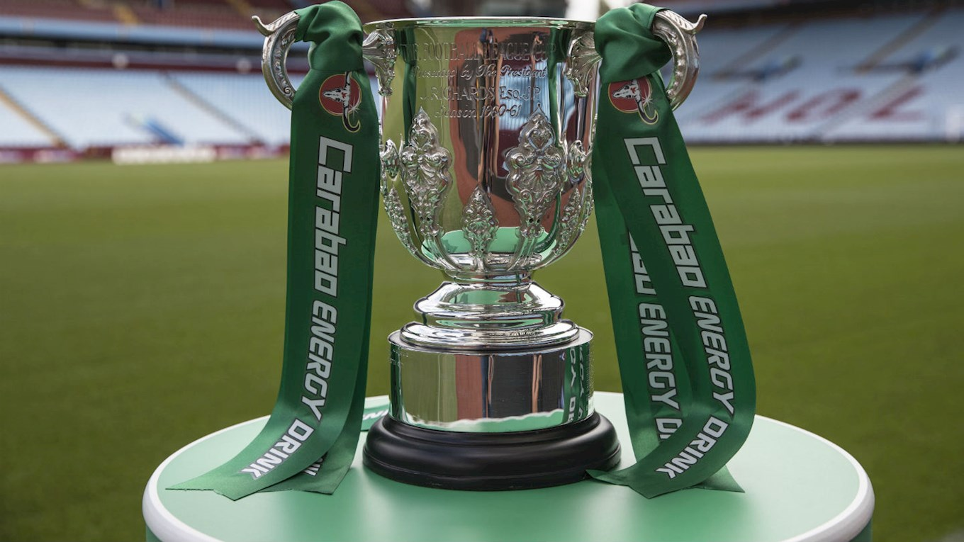 Round Two Confirmed Carabao Cup Draw News Efl